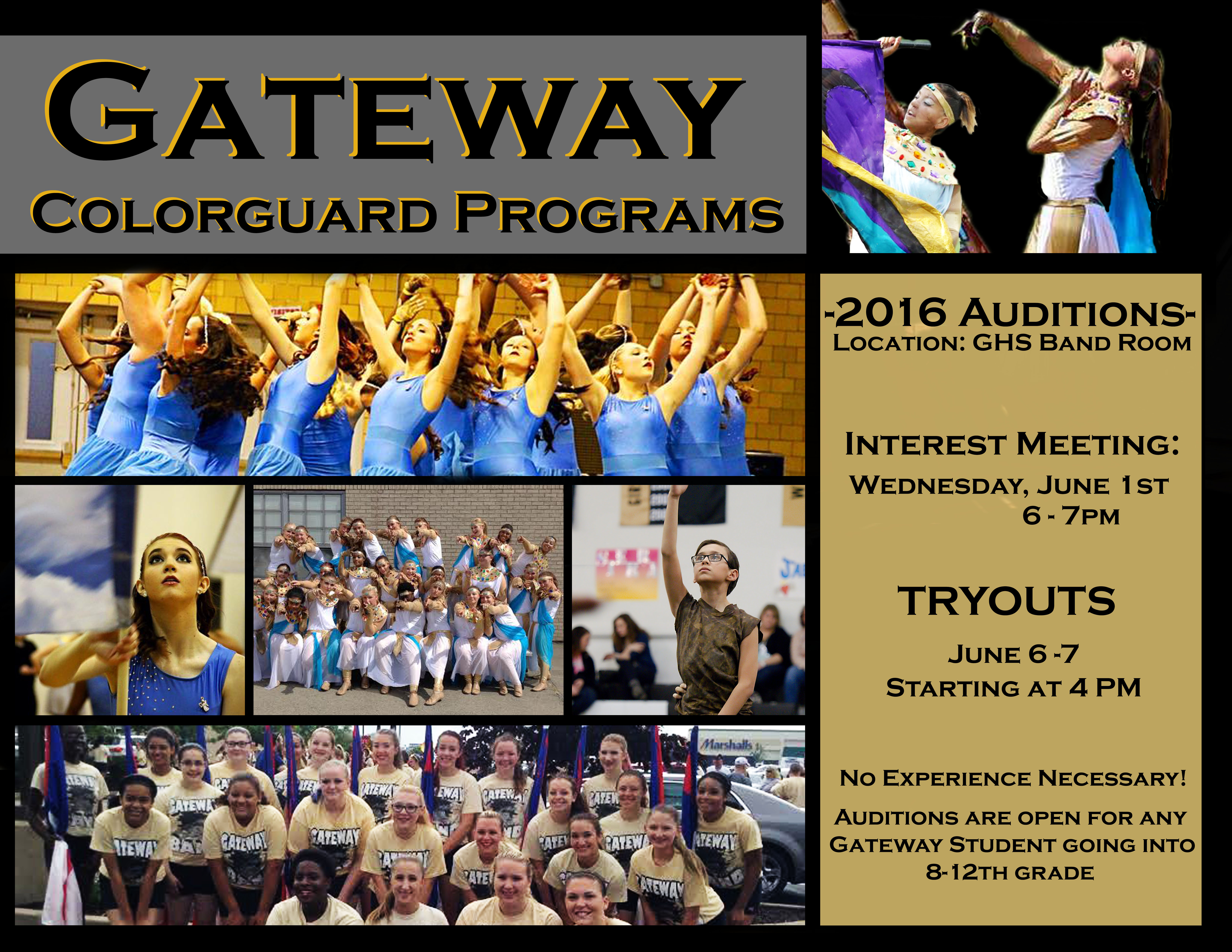Color Guard Meeting & Auditions